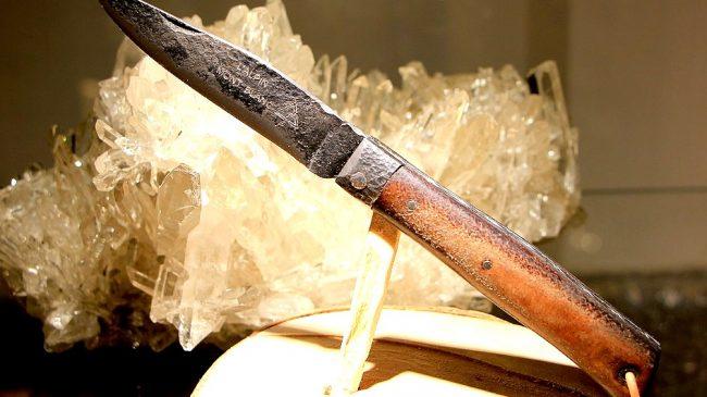 Couteaux à Chamonix