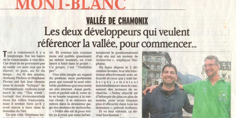 Démarchage professionnels de la vallée de Chamonix